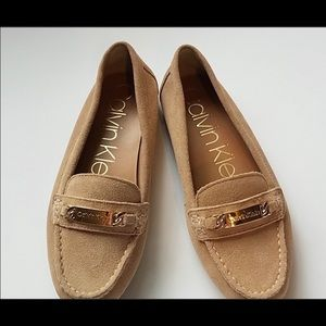 Calvin Klein Suede Driving Shoes